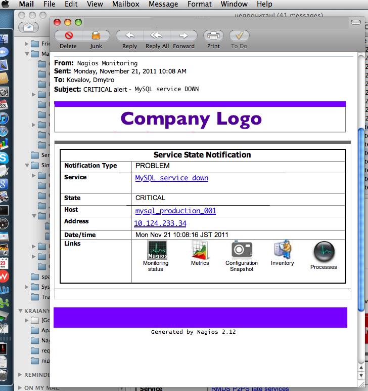 Nagios mail template nagios email ruby dmytro kovalov screenshot maxwellsz